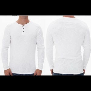 BUCKLE EXCLUSIVE Hall Henley White Medium
